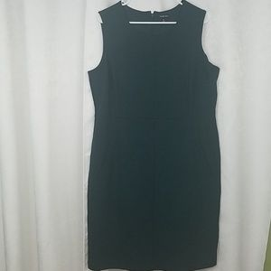Lands End Green Dress With Pockets Size 18